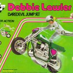 Daredevil Debbie: America's motorcycle jump queen who took on Knievel and won