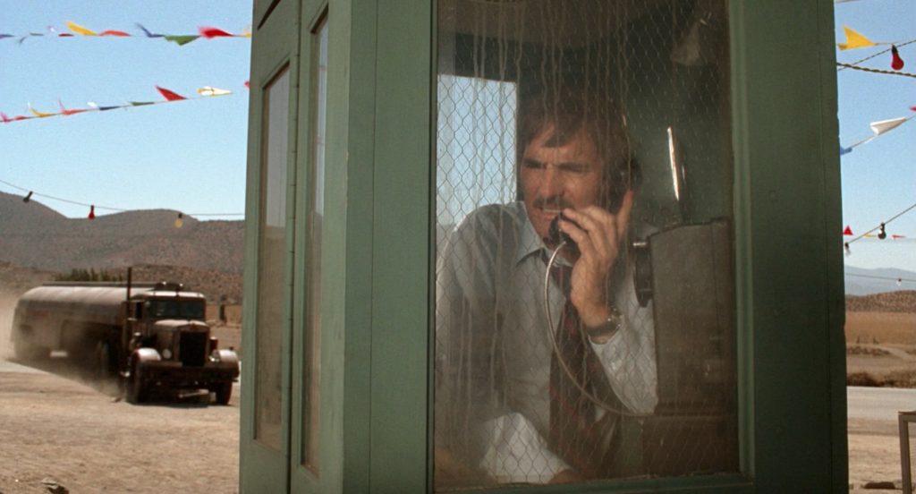 Dennis Weaver plays hapless salesman, David Mann