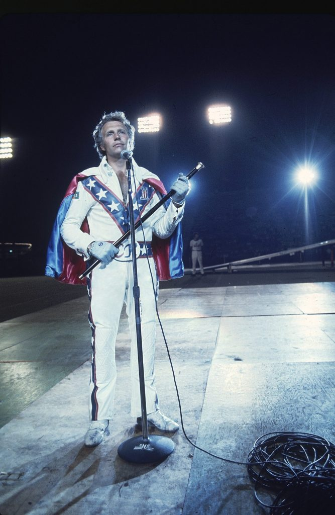 Evel Knievel in 1974