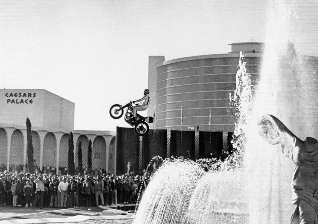 Evel Knievel at Caesars Palace, 1967
