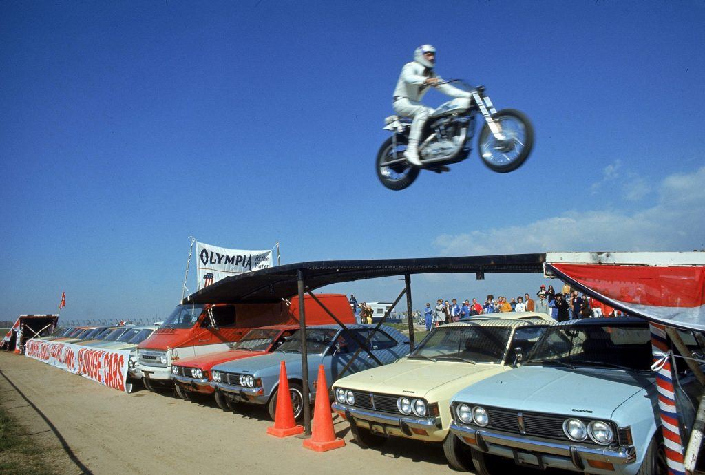 Evel Knievel 1971 biopic