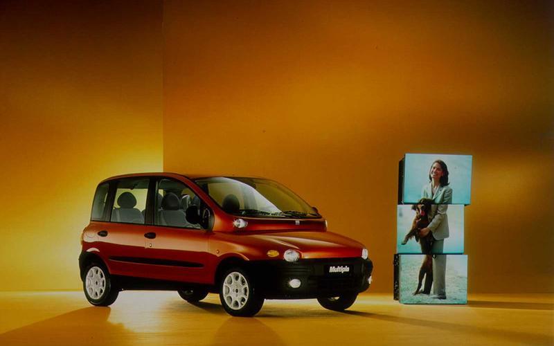 11 daring car designs_Fiat Multipla