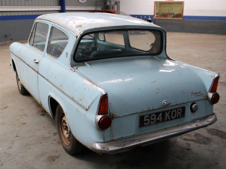 Ford Anglia 105 E auction