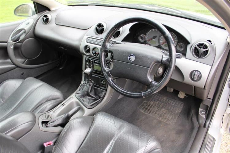 Ford Cougar coupe interior