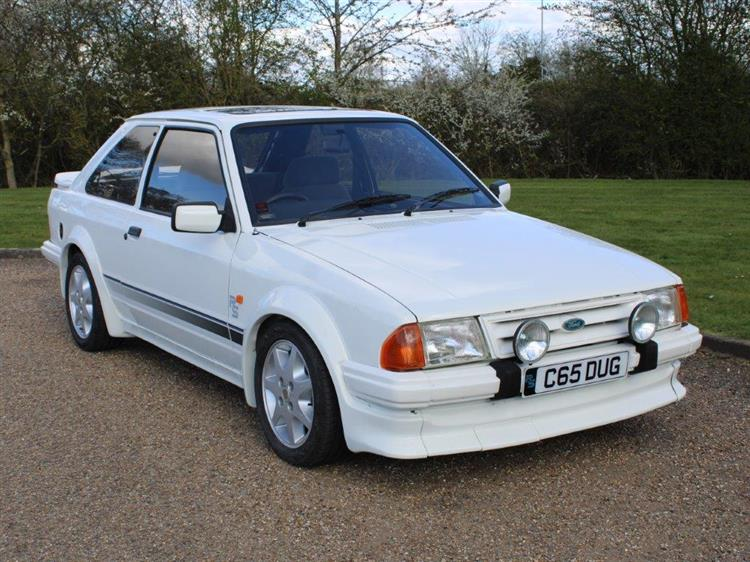 Ford Escort RS Turbo Mk1 auction