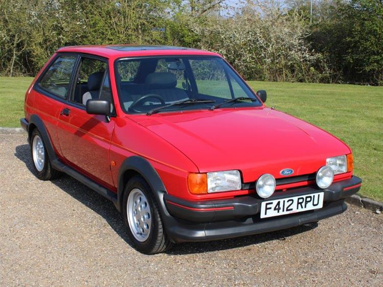 Ford Fiesta XR2 at auction