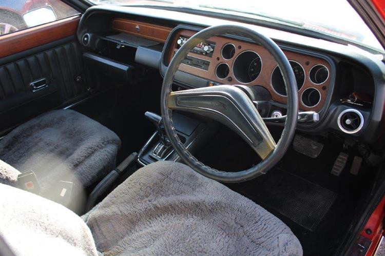 Ford Granada Mk1 3000 interior