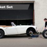 Socket Set lifting a car