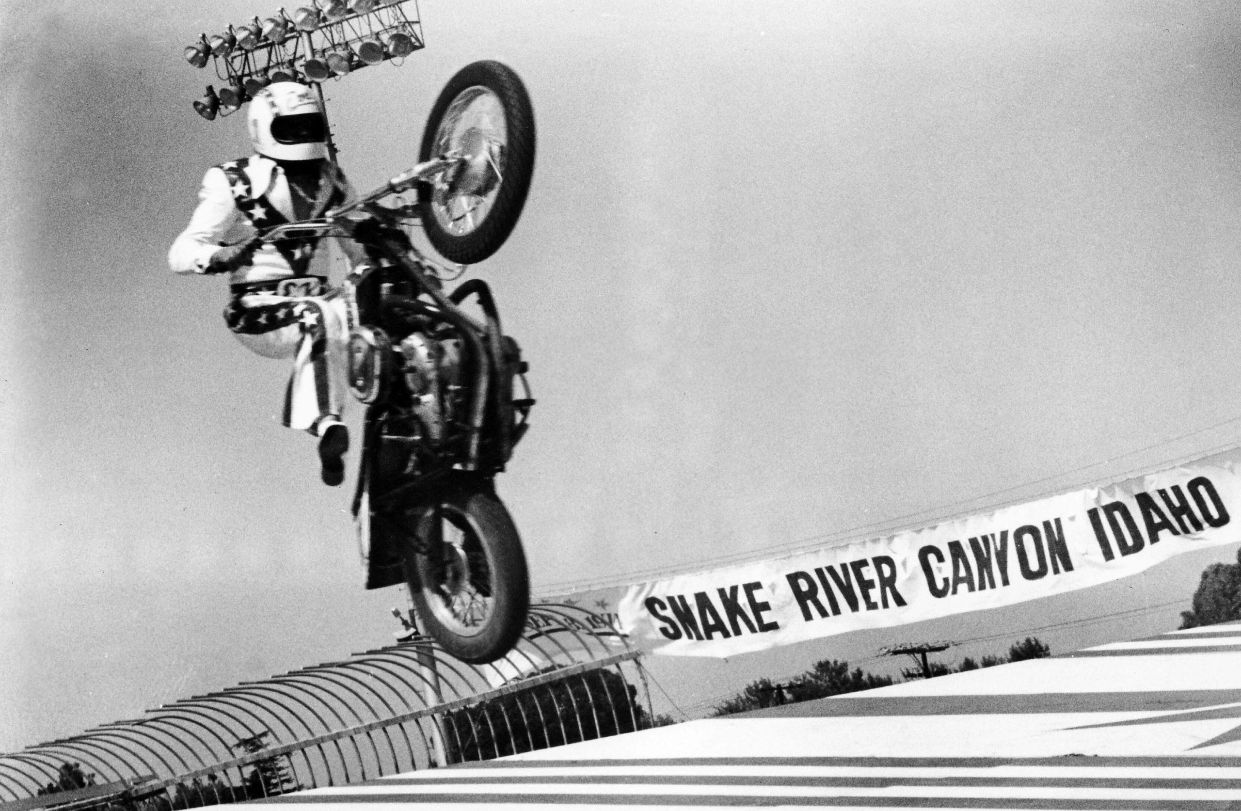 Evel Empire: Knievel's stranglehold on the Seventies
