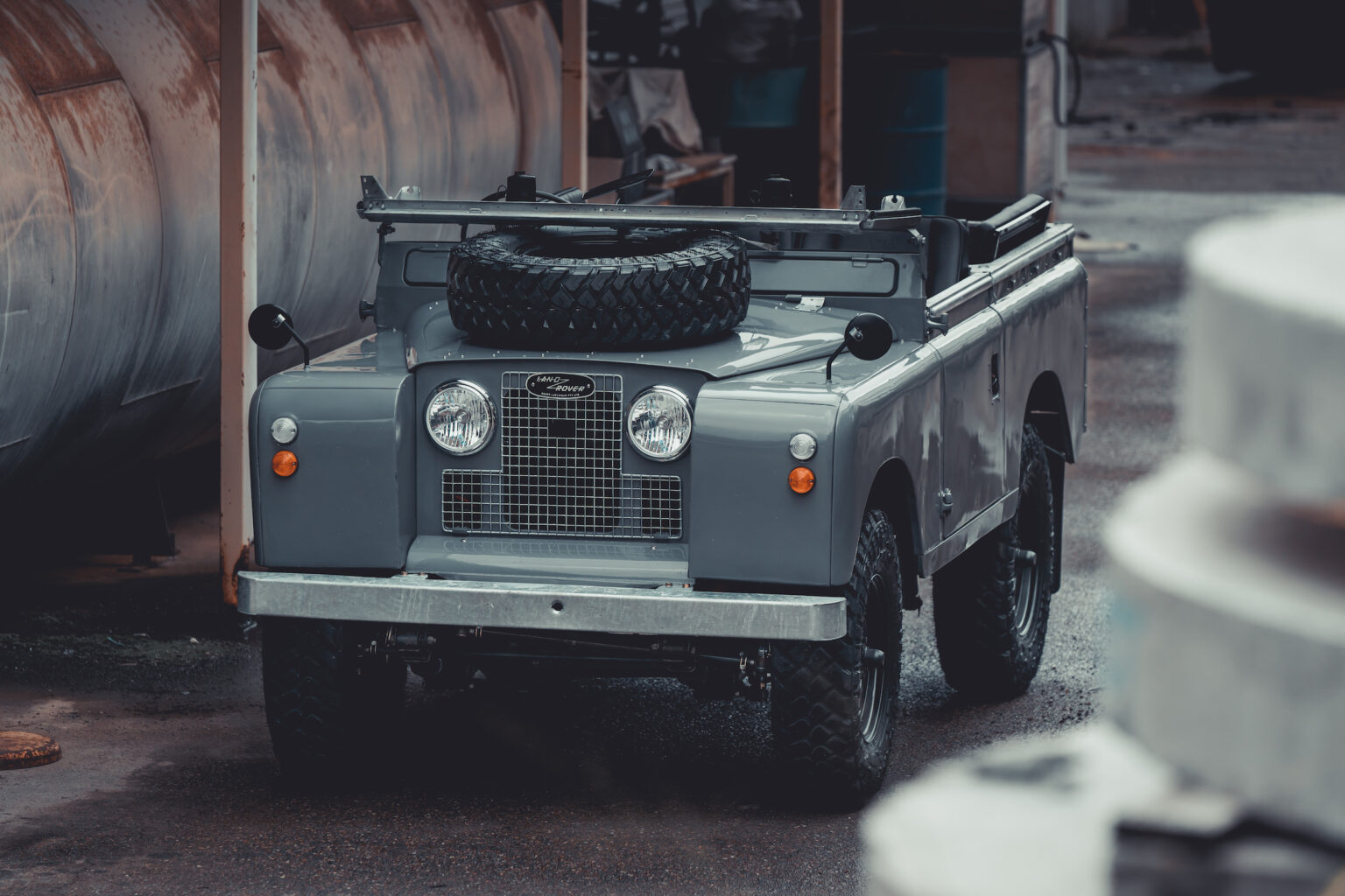 Surf 'n' turf Land Rover is as cool as they come