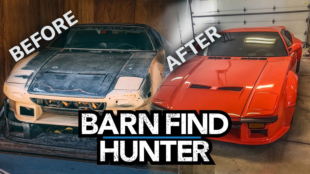 The De Tomaso Pantera we found is restored after 35 years | Barn Find Hunter