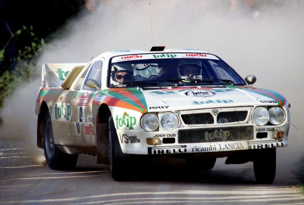 Miki Biasion Lancia 037 1984 San Remo