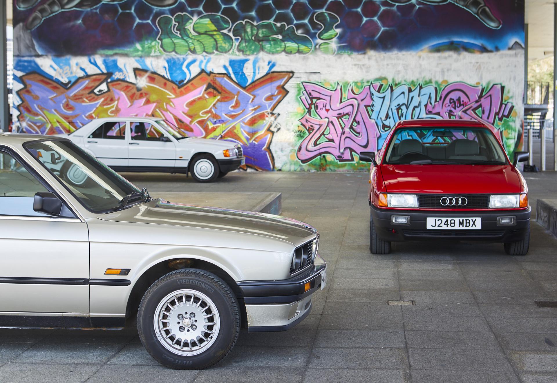 Executive Decision: Audi 80 vs BMW 3-series vs Mercedes 190E