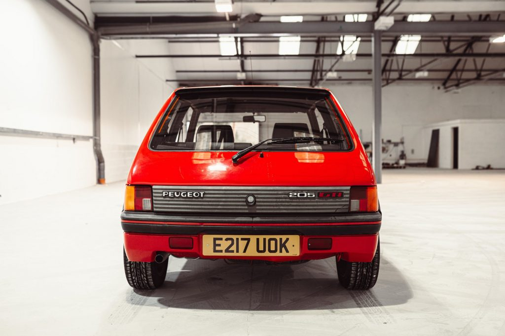 Hagerty Price Guide values for the Peugeot 205 GTI