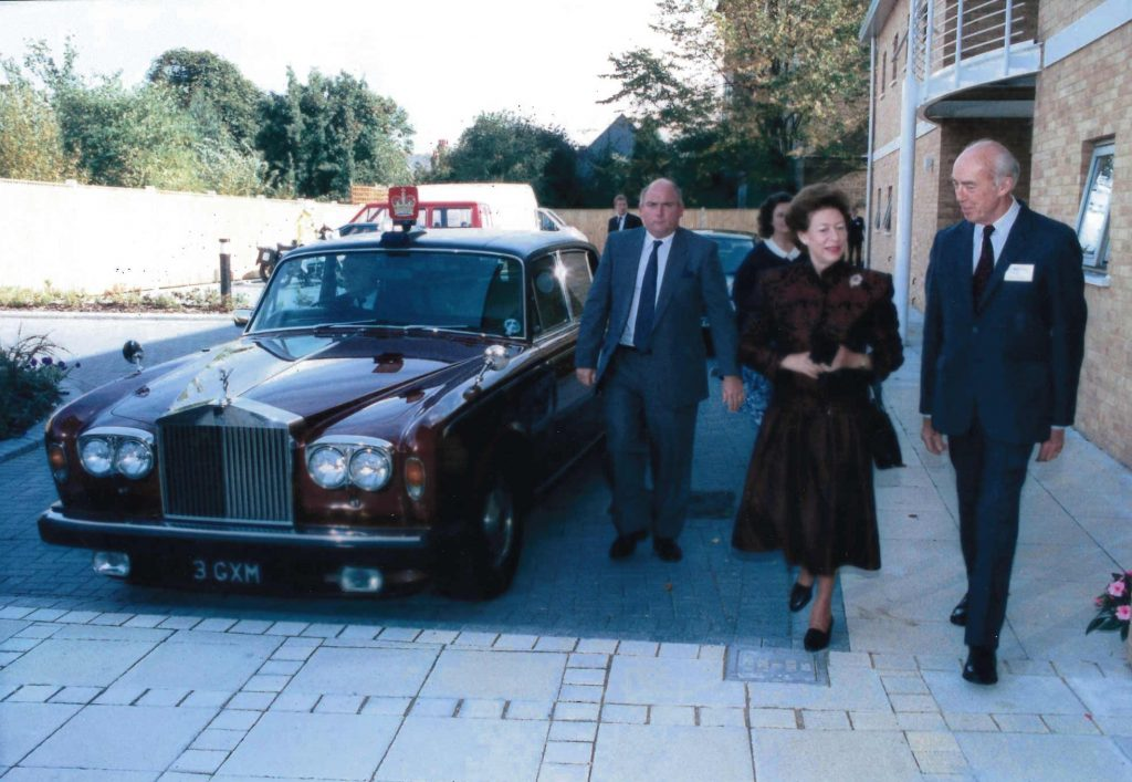 Princess Margaret 1980 Rolls-Royce Silver Wraith II auction