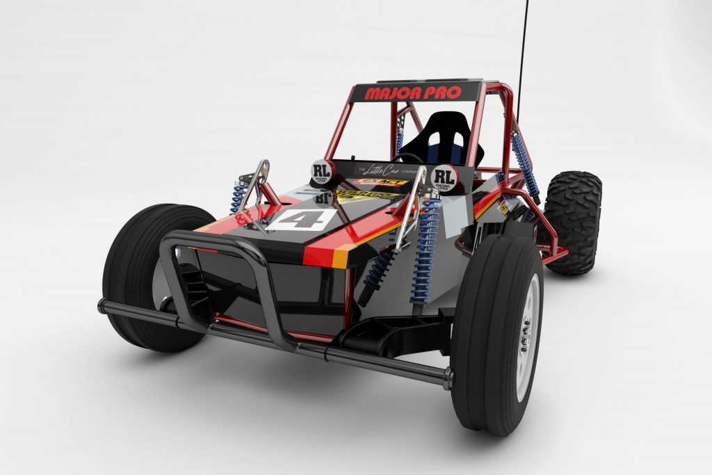 Look who's all grown up: The Wild One is a Tamiya model you can drive