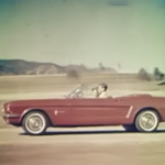 1964 Ford Mustang TV ad