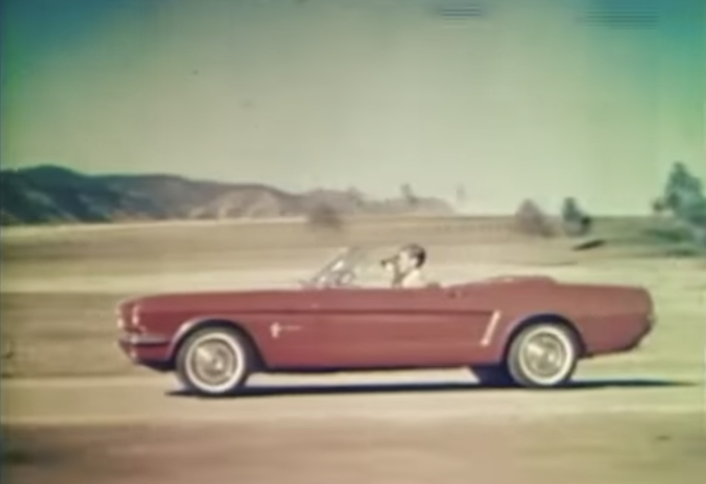 Freeze Frame: The first TV adverts for Ford's new pony car create Mustang Mania