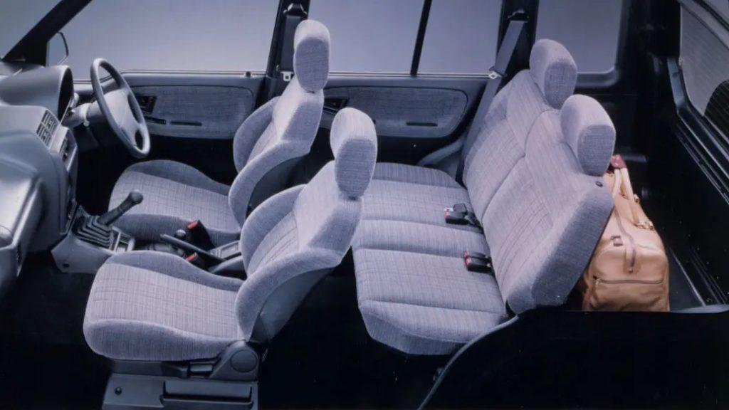 Suzki Vitara Mk1 interior