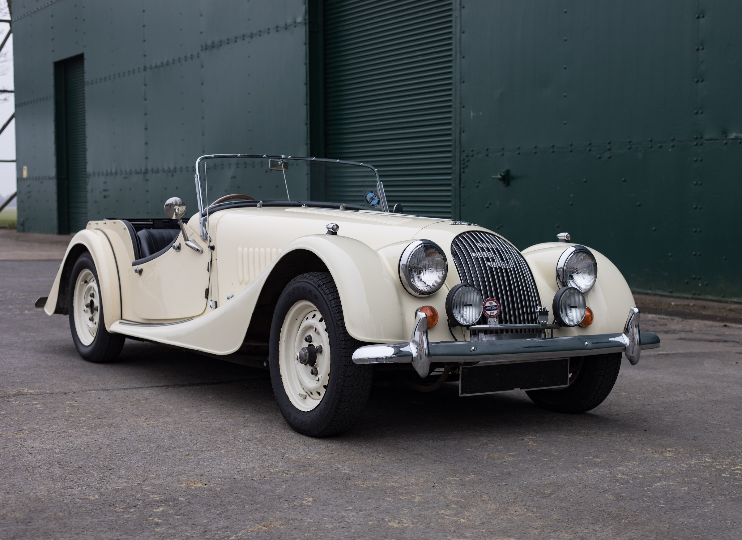 Electric Triumph Stag and Morgan 4/4 ready for the road