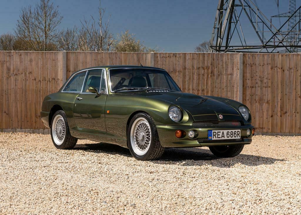 Cruise in style in the MG RV8 coupé that never was