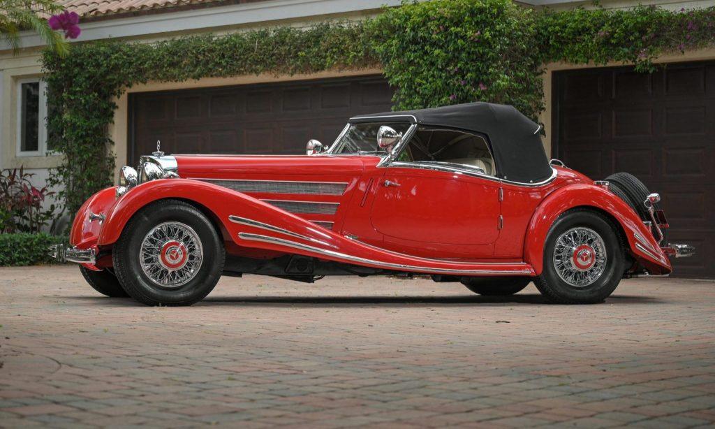 1934 Mercedes-Benz 500/540K (Factory Upgrade) Spezial Roadster