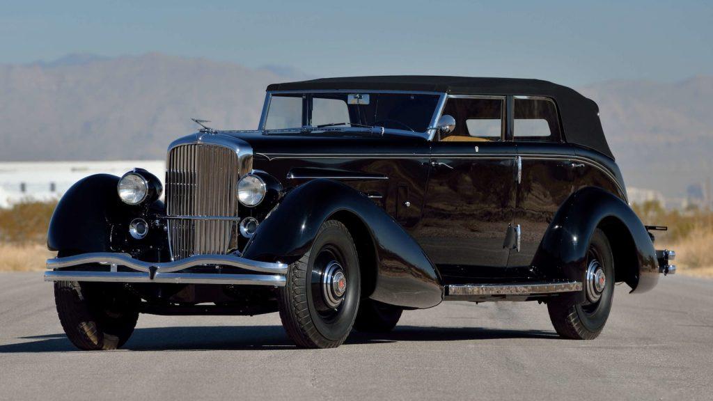 1936 Duesenberg Model J Rollston Convertible Berline