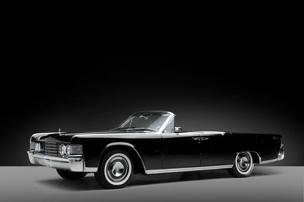 Lady Gaga drove a Lincoln Continental