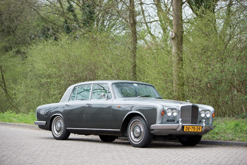 Bentley T1 was introduced in 1965