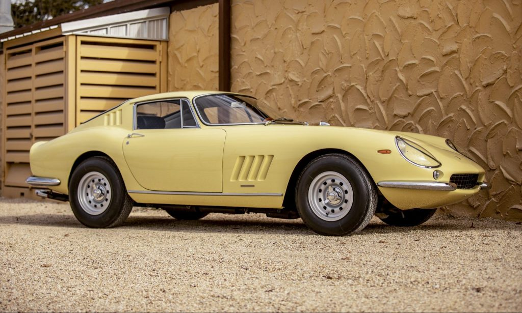 1968 Ferrari 275 GTB/4 by Scaglietti