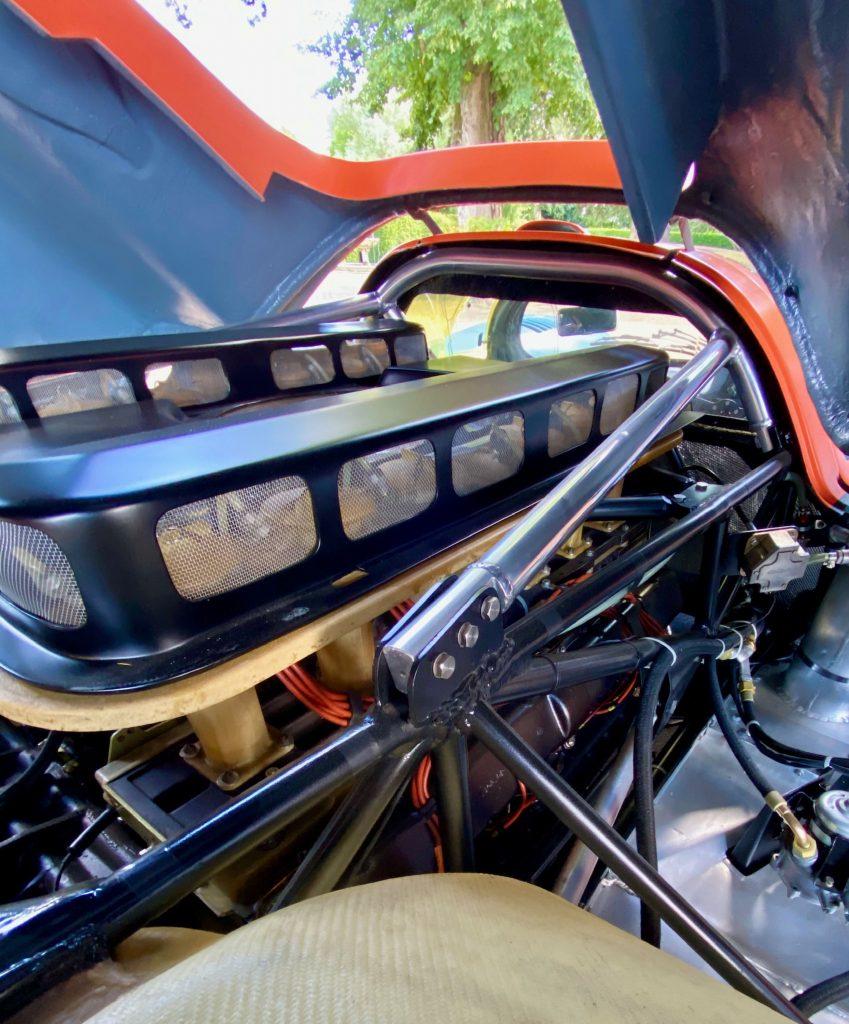 Porsche 917K flat-12 cylinder engine