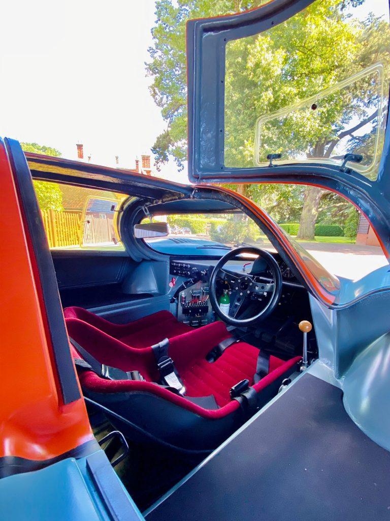 Porsche 917K interior cockpit