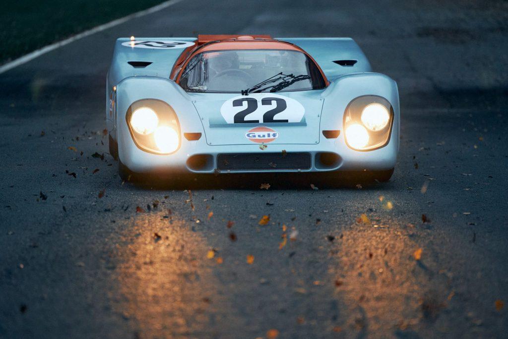 Porsche 917K that raced at Le Mans in 1970