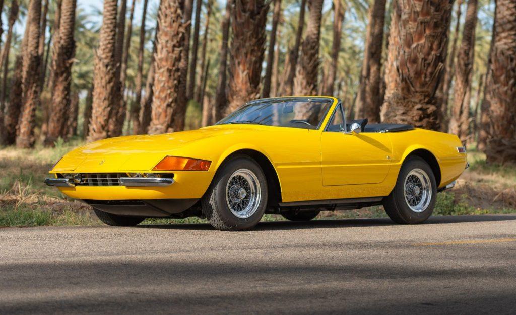 1971 Ferrari 365 GTS/4 Daytona Spider
