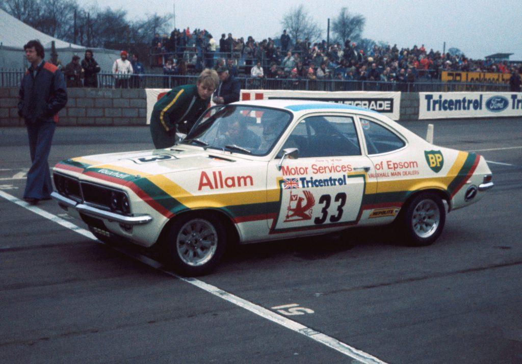 Jeff Allam in Vauxhall Magnum