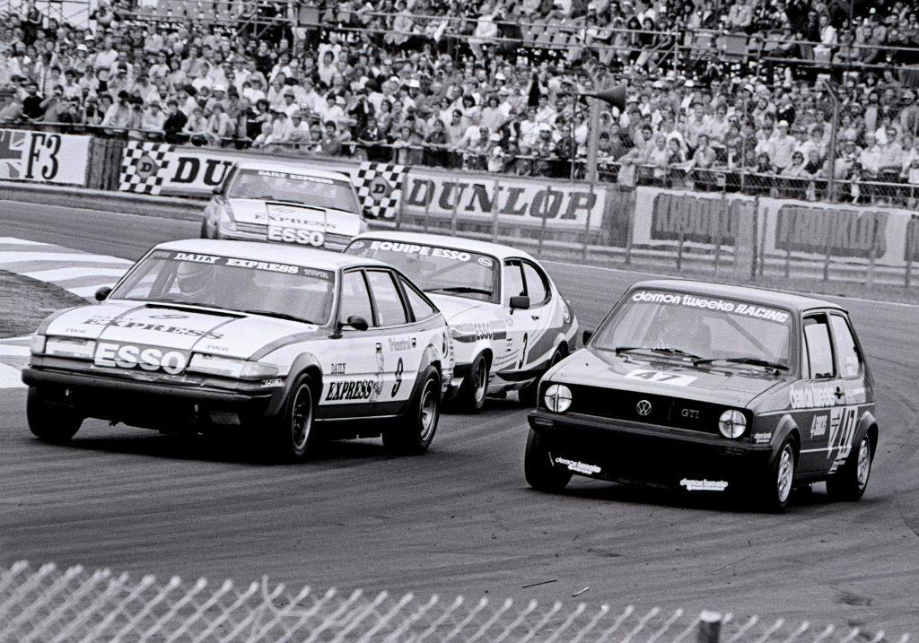 1981 British Saloon Car Championship Rover SD1 Jeff Allam