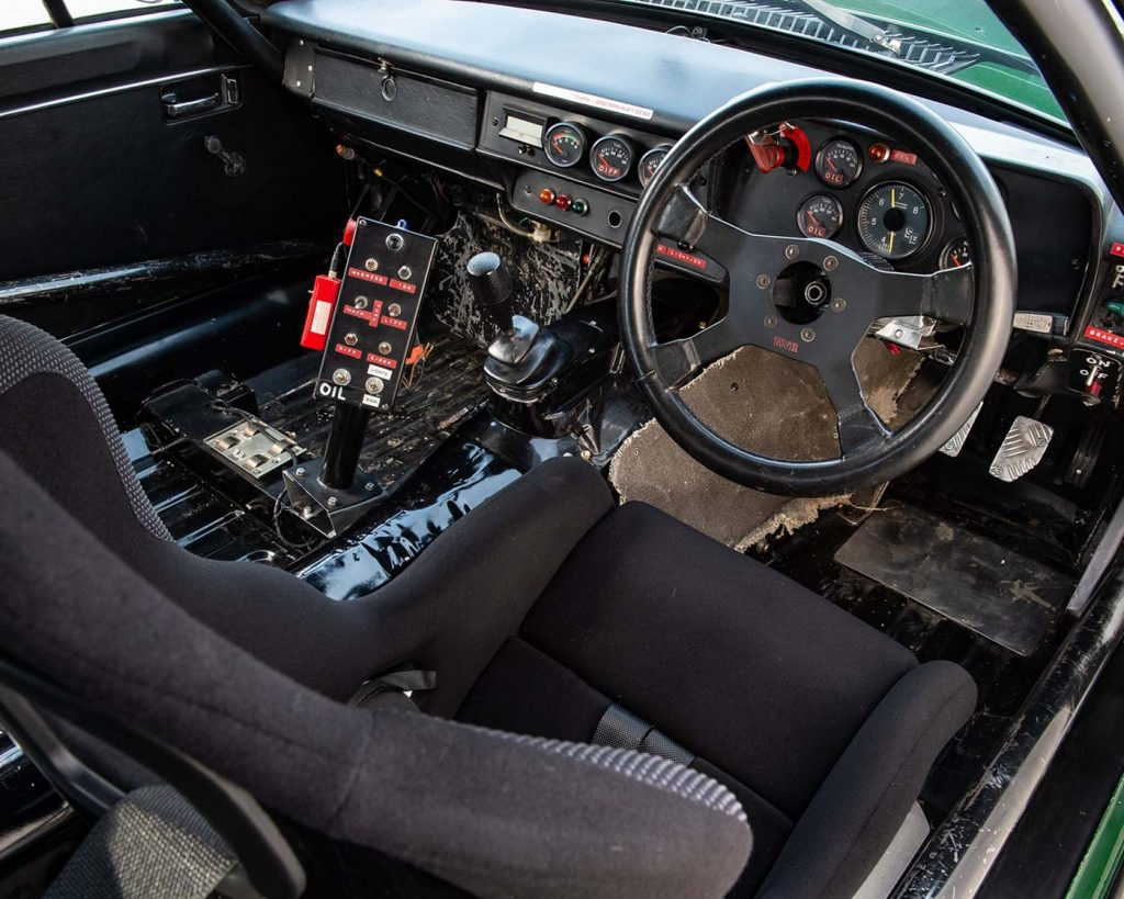 TWR Group A Jaguar XJ-S interior