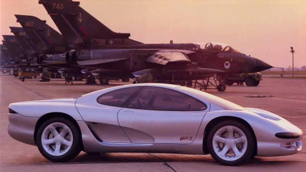 Isuzu 4200R concept sports car