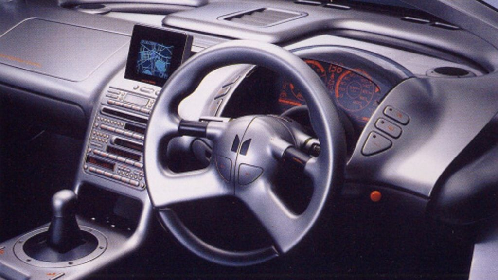 1989 Isuzu 4200R interior