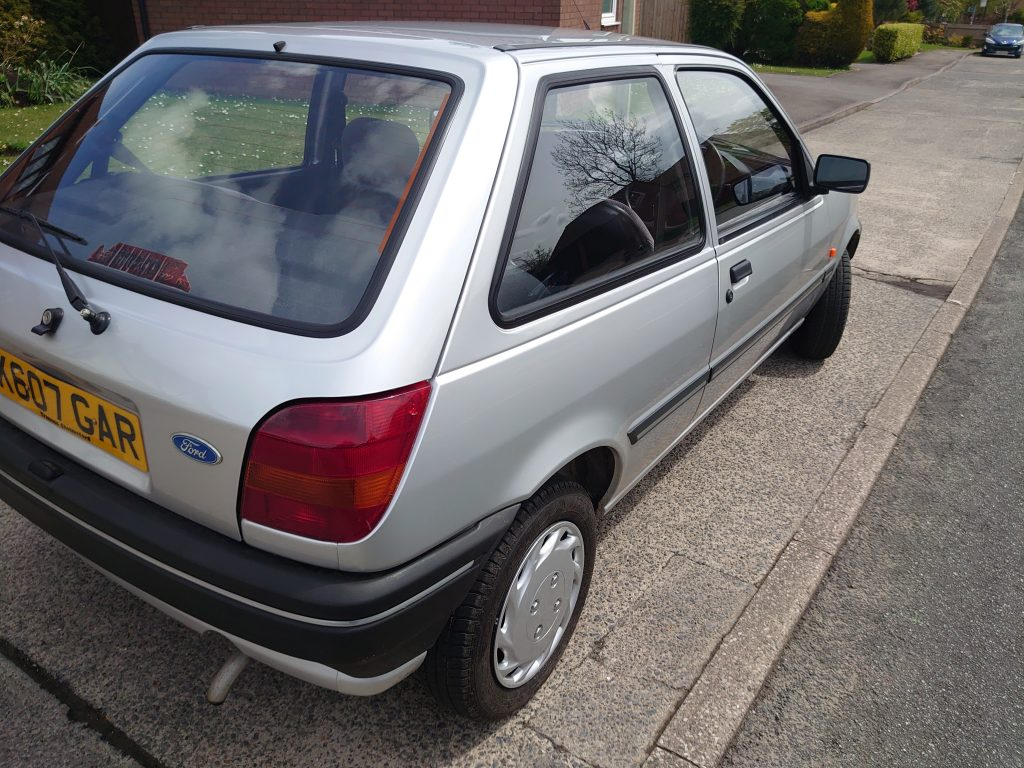 1993 ford fiesta 1.3-litre automatic for sale