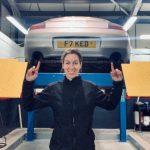 Female Mechanic Hannah Gordon
