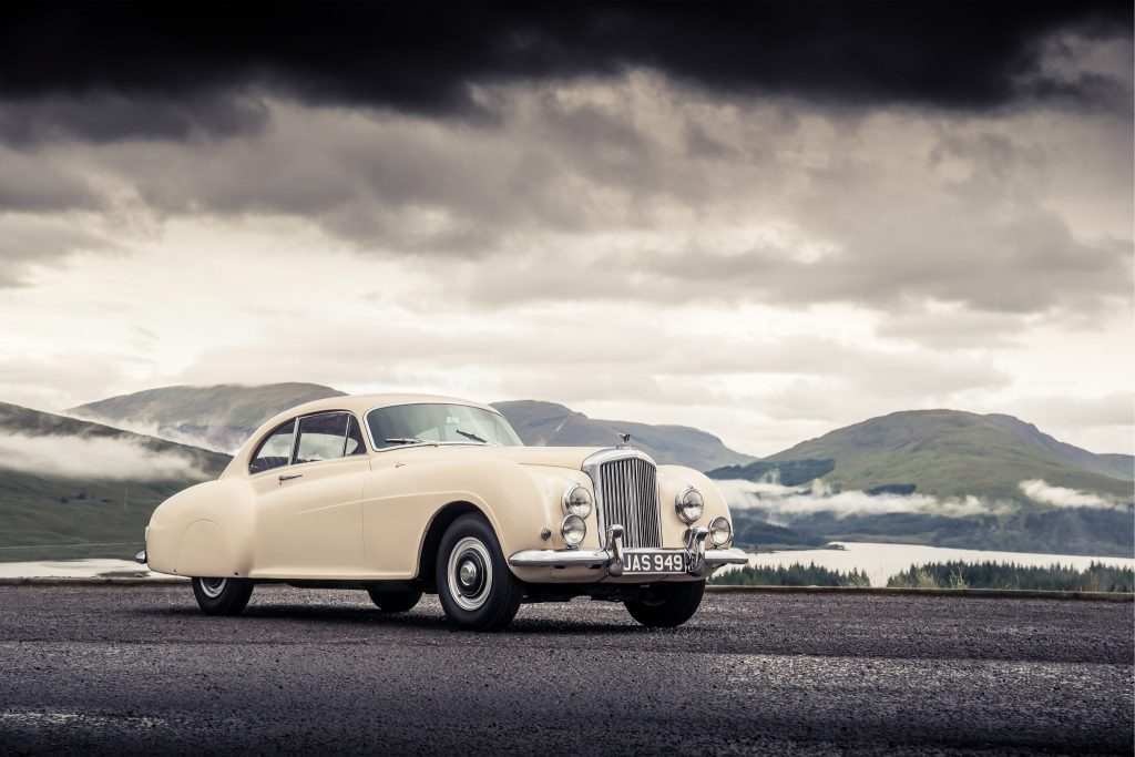 1952 the Bentley R-Type Continental