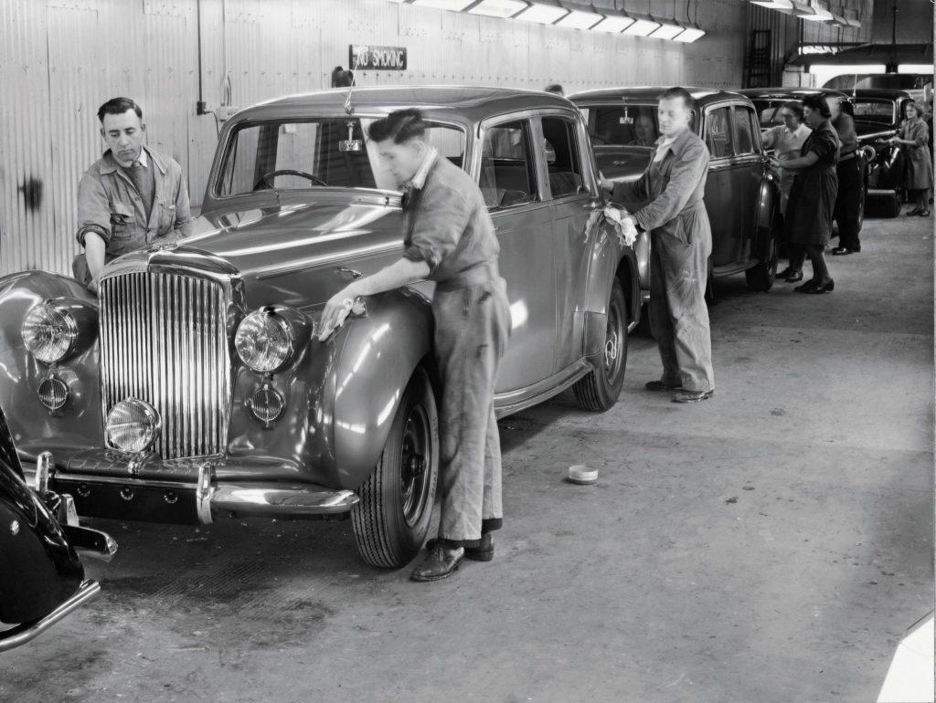 Standard Steel Bentley Mark VI of 1946