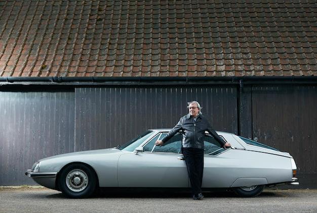 Bill Wyman with his Citroen SM