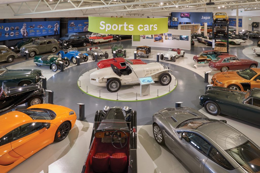 British Motor Museum - Sports Cars