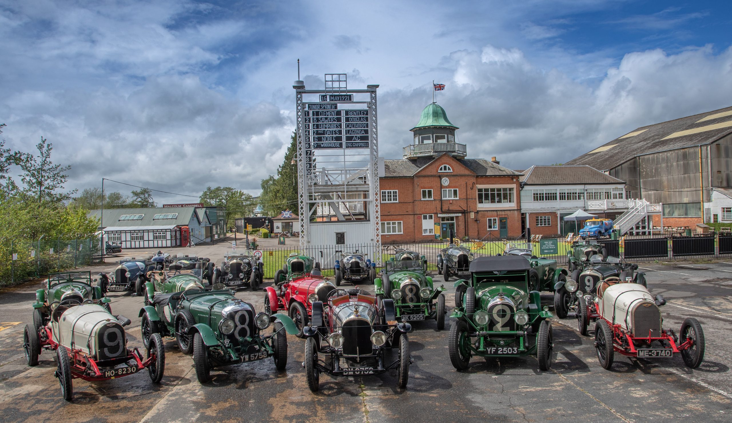 This May marked the 100th anniversary of which significant event in Bentley's history?