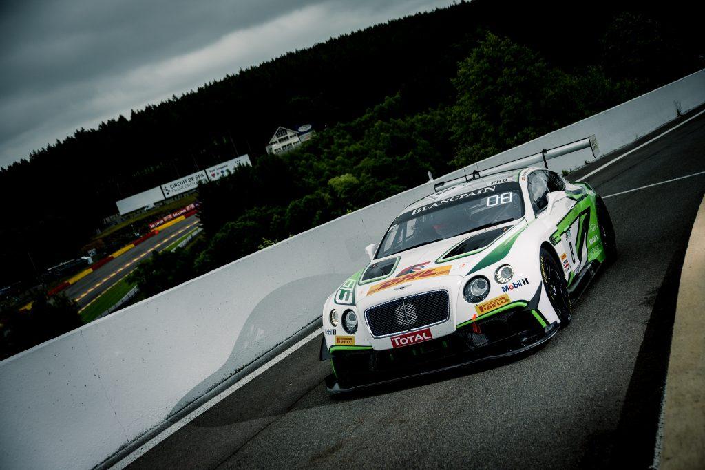 The 2010 Bentley Continental GT3 race car