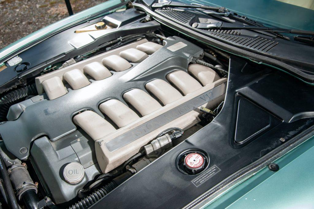 Aston Martin DB7 V12 engine problems