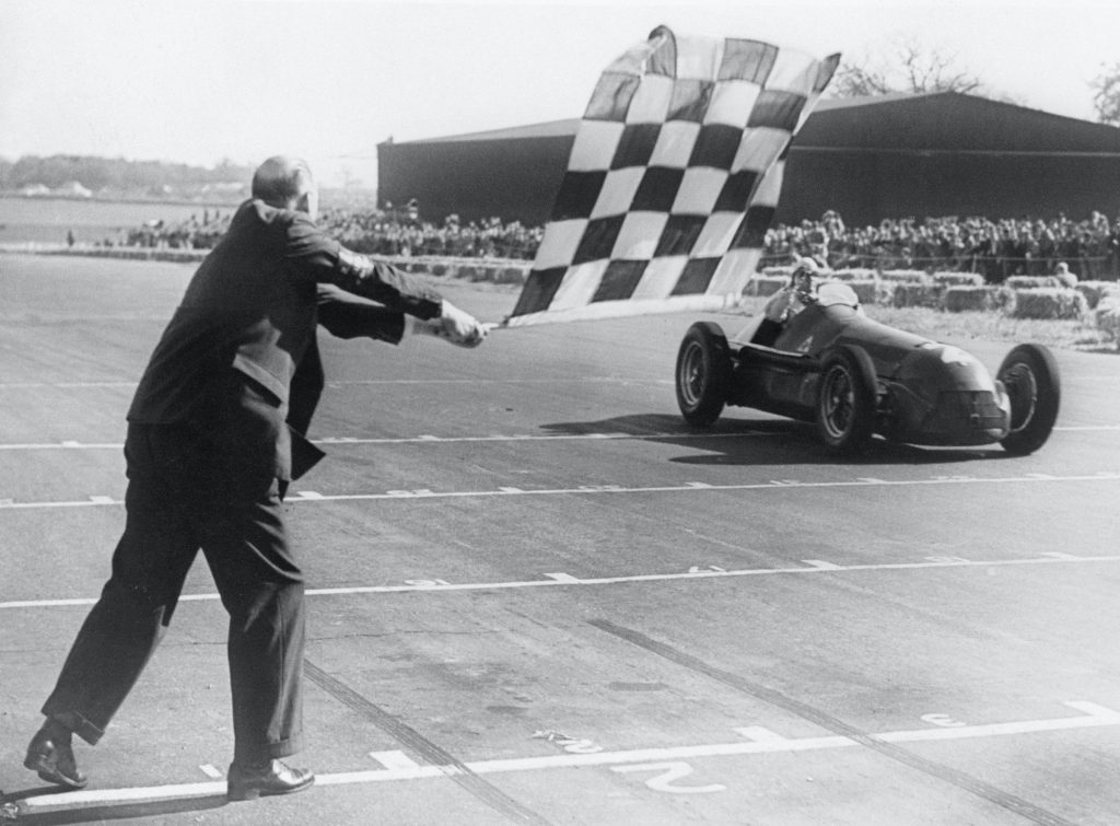 Giuseppe Farina, 1950 British Grand Prix
