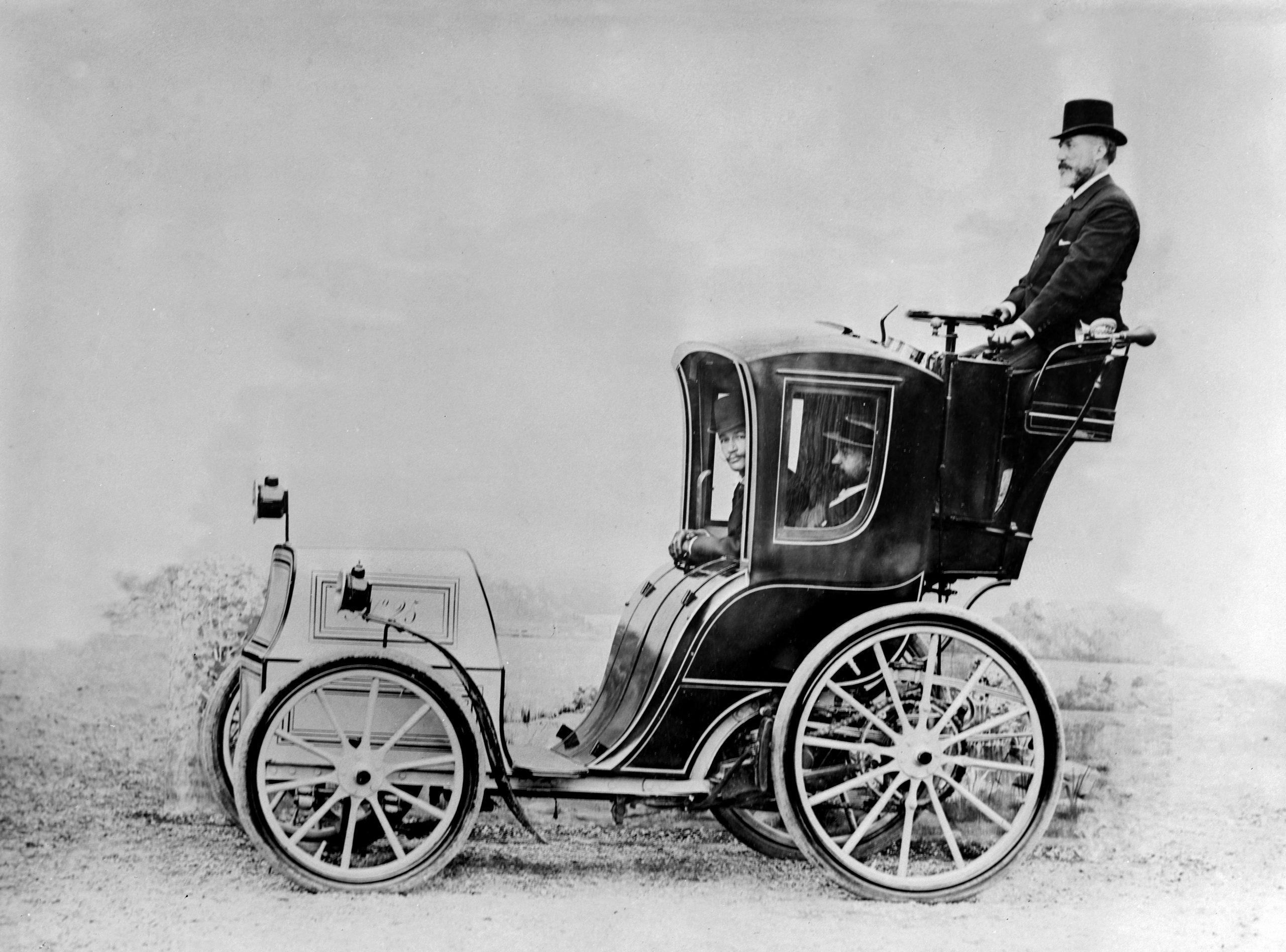 Charles Jeantaud electric cab
